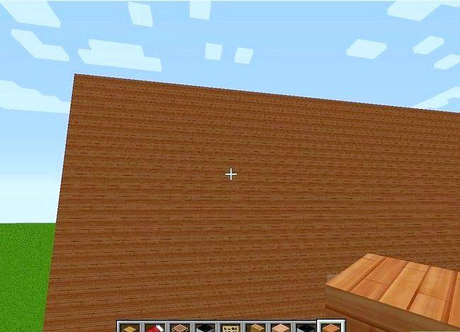 Prent getiteld Maak `n groot huis in Minecraft Stap 11