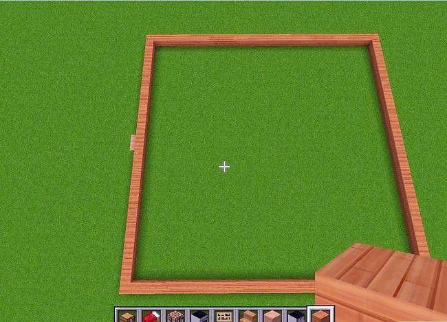 Prent getiteld Maak `n groot huis in Minecraft Stap 10