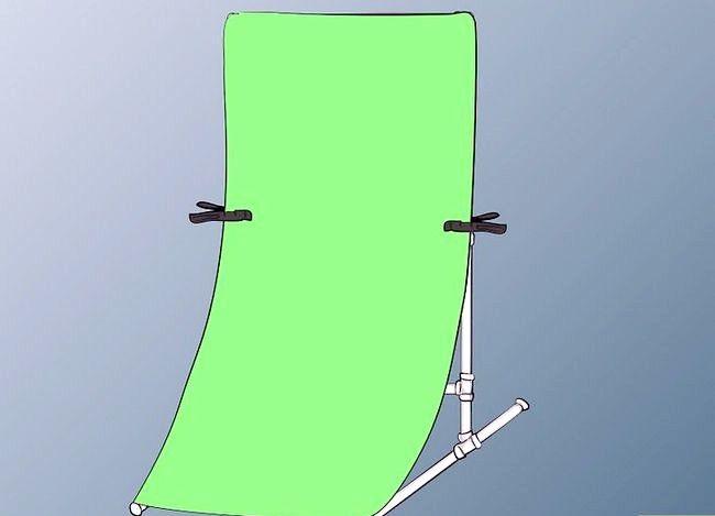 Prent getiteld Bou `n draagbare groen skerm Stap 6Bullet1