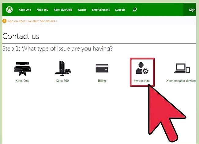Beeld getiteld Kontak Xbox Live Stap 2