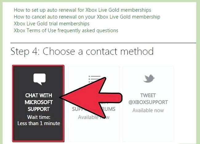 Beeld getiteld Kontak Xbox Live Stap 5