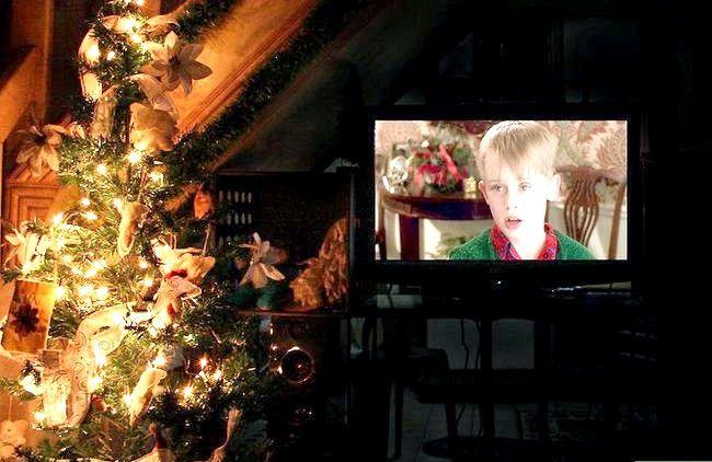 Prent getiteld Kry jouself in die Kersfees Gees Stap 8
