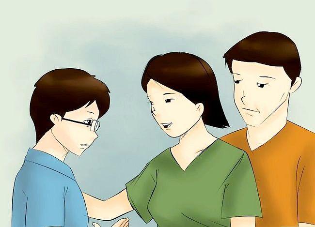 Prent getiteld Bespreek belangrike probleme met jou ouers Stap 7