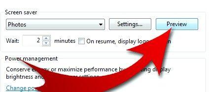 Prent getiteld Draai jou gunsteling foto`s in `n Screensaver (op Windows 7) Stap 8