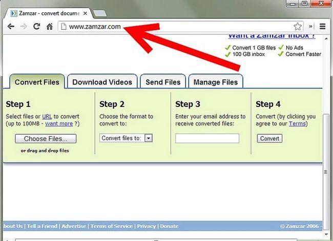 Prent getiteld PDF omskakel na Word, Excel, PowerPoint, JPG en HTML Step 1