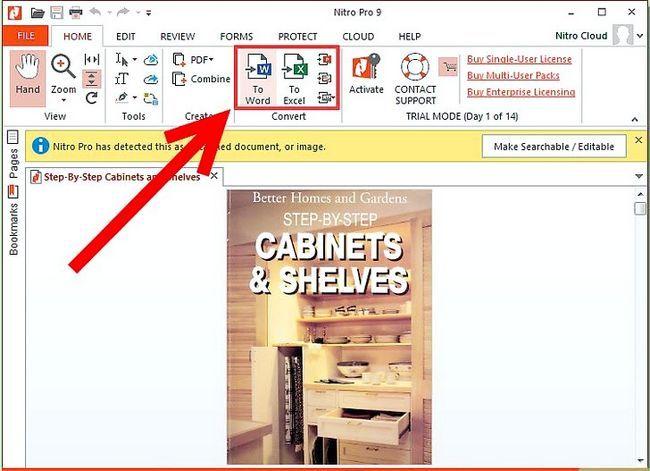 Prent getiteld PDF omskakel na Word, Excel, PowerPoint, JPG en HTML Stap 16