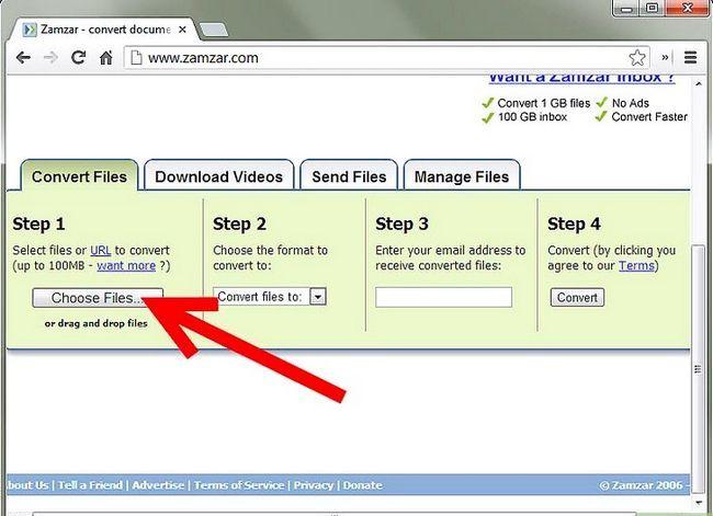 Prent getiteld PDF omskakel na Word, Excel, PowerPoint, JPG en HTML Step 2