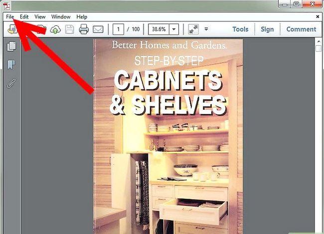 Prent getiteld PDF omskakel na Word, Excel, PowerPoint, JPG en HTML Stap 9