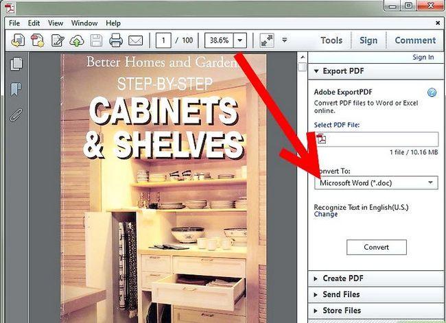 Prent getiteld PDF omskakel na Word, Excel, PowerPoint, JPG en HTML Step 10