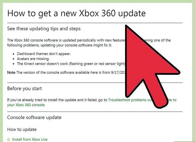 Prent getiteld Draai na Flash Drive na Xbox 360 geheue eenheid Stap 1