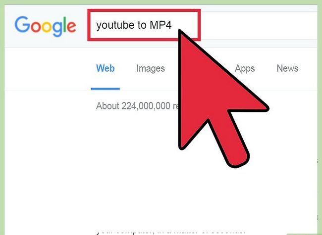 Prent getiteld Skakel YouTube-video`s na MP4 Stap 2