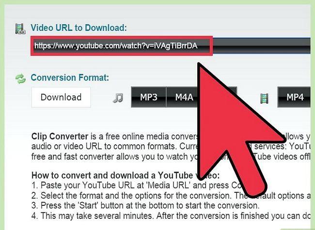 Prent getiteld Skakel YouTube-video`s na MP4 Stap 3