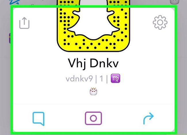 Prent getiteld Word Best Friends op Snapchat Stap 16