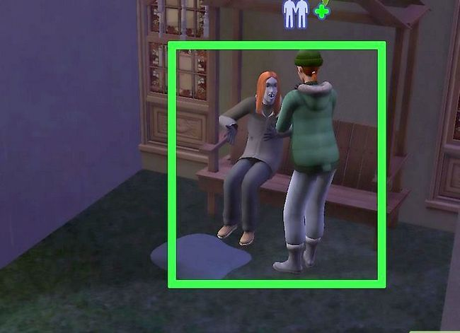 Prent getiteld Word `n Vampier in Sims 2 Stap 4