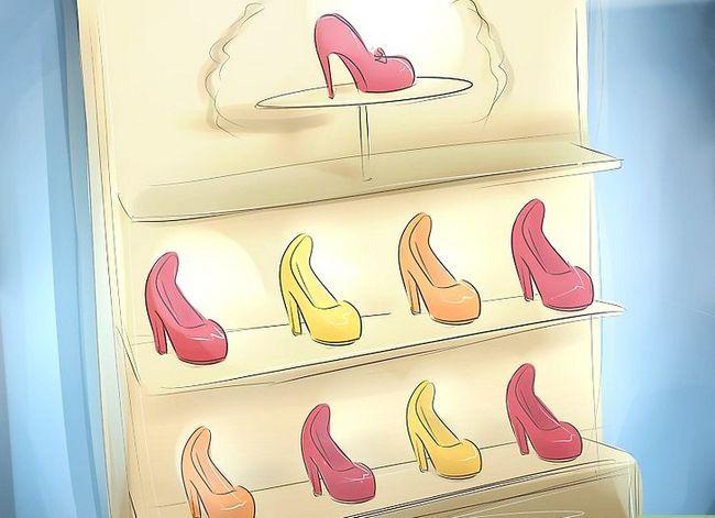 Prent getiteld Word `n skoenontwerper Stap 22