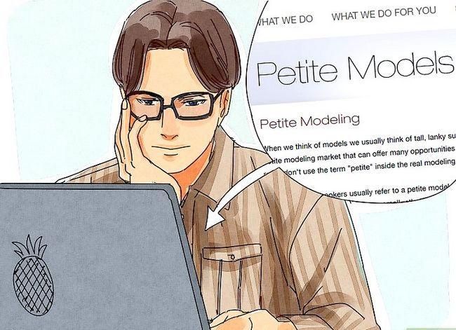 Prent getiteld Word `n Petite Model Stap 13