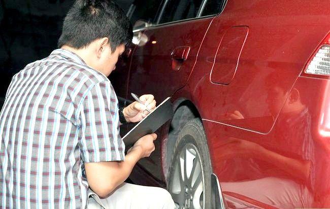Prent getiteld Word `n Auto Insurance Adjuster Stap 3