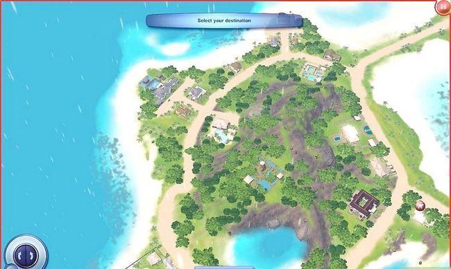 Prent getiteld Word `n Meermin in Sims 3 Eiland Paradys Stap 1
