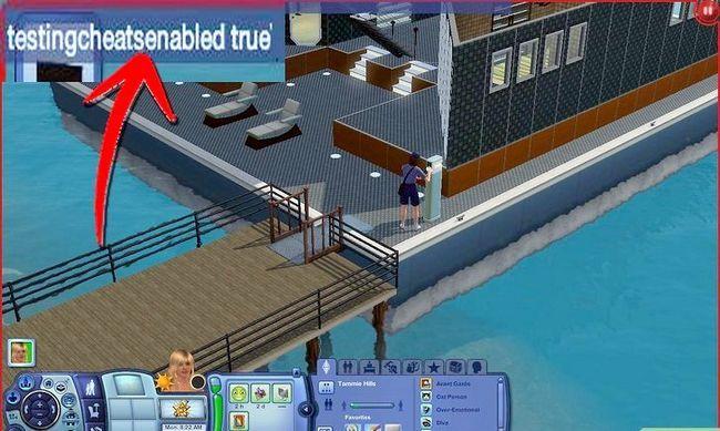 Prent getiteld Beheer Nog `n Sim op die Sims 3 Stap 2