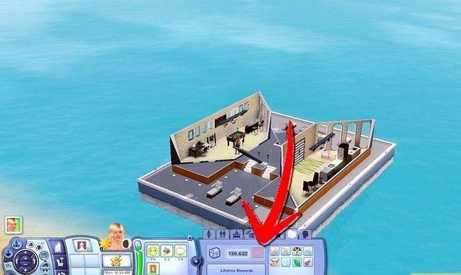 Prent getiteld Word `n Meermin in Sims 3 Eiland Paradys Stap 5