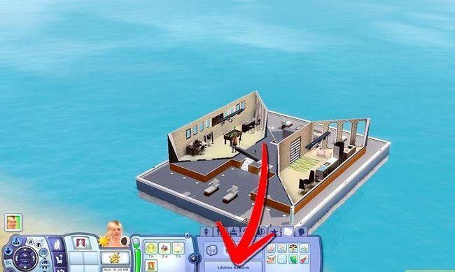 Prent getiteld Word `n Meermin in Sims 3 Eiland Paradys Stap 6