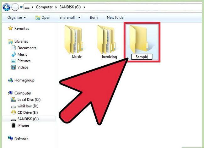 Prent Titel Kopieer Dokumente na `n USB Flash Drive vanaf u rekenaar Stap 3