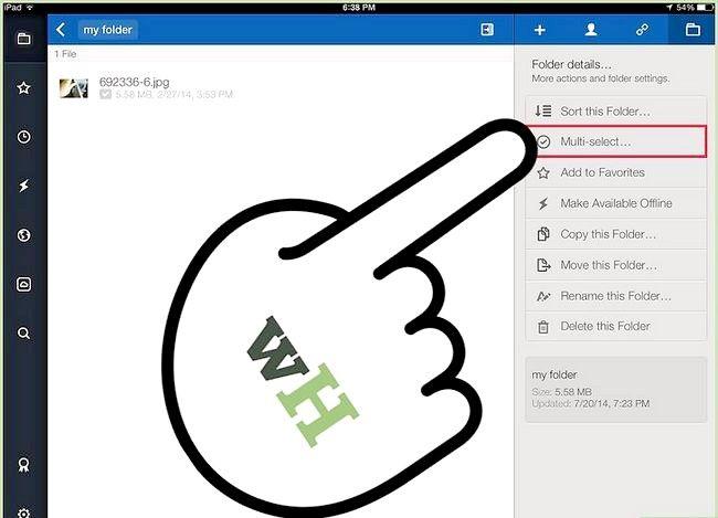 Prent titel Kopieer of skuif lêers in vak op iOS Stap 13