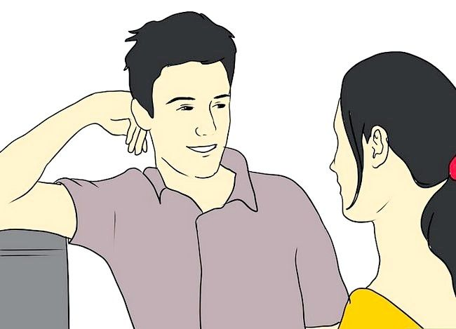 Prent getiteld Flirt With Your Crush (vir Girls) Stap 3