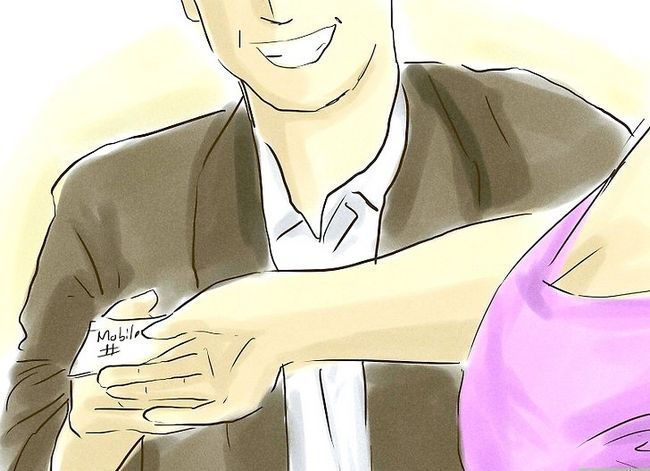 Prent getiteld Flirt With A Pretty Girl Stap 9