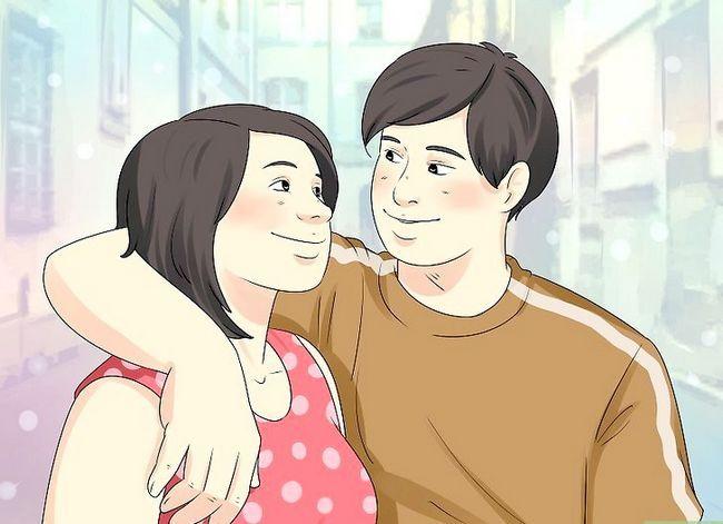Prent getiteld Flirt Fisies Stap 3