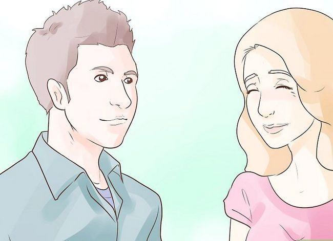 Prent getiteld Flirt With Body Language Stap 5
