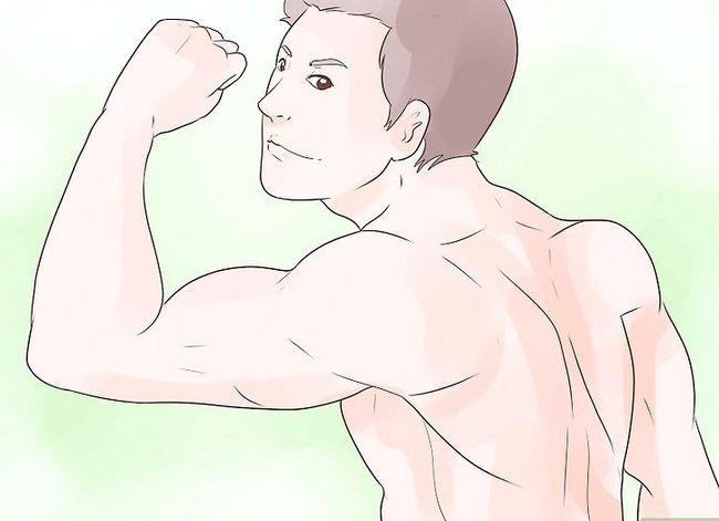 Prent getiteld Flirt With Body Language Stap 6