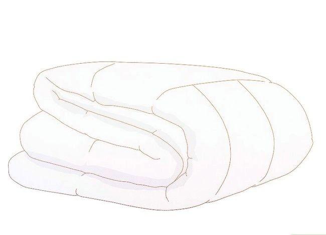Prent getiteld Sew Duvet Covers Stap 1