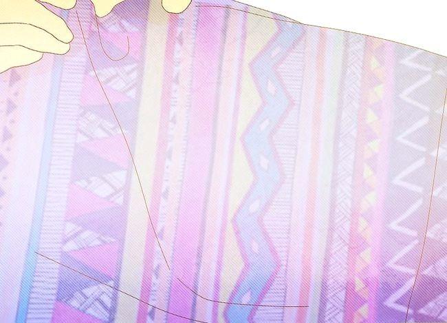 Prent getiteld Sew Duvet Covers Stap 4