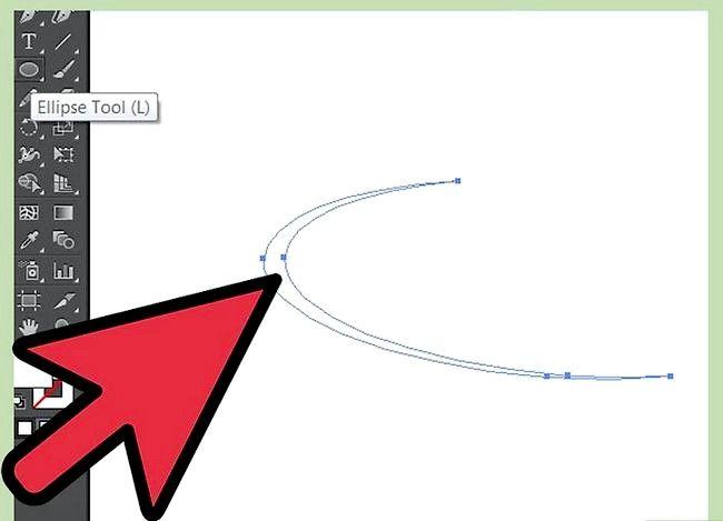 Prent getiteld Skep water in Adobe Illustrator Stap 4