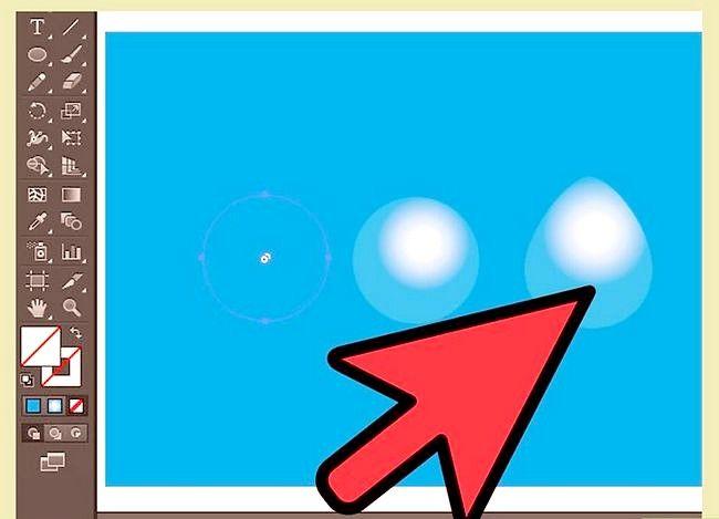 Prent getiteld Skep water in Adobe Illustrator Stap 6