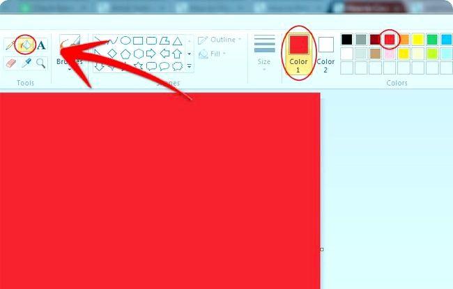 Prent getiteld Skep geannoteerde skerm prente Gebruik Windows Paint Stap 18
