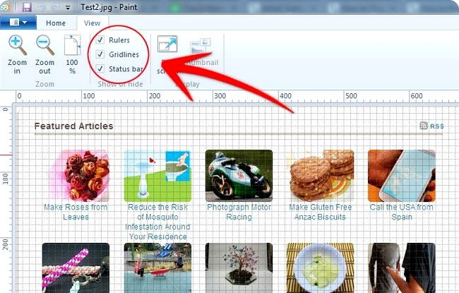 Prent getiteld Skep annotated Screenshots Met Windows Paint Stap 21