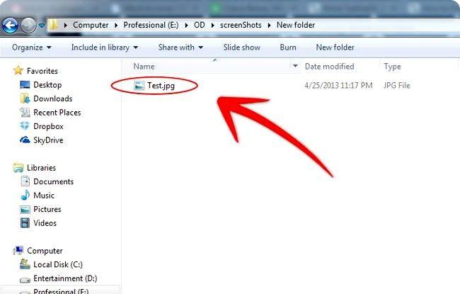 Prent getiteld Skep annotated Screenshots Met Windows Paint Stap 3