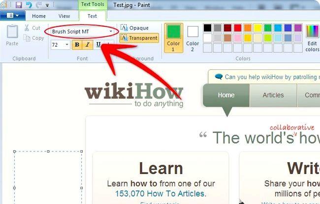Prent getiteld Skep annotated Screenshots Met Windows Paint Stap 7