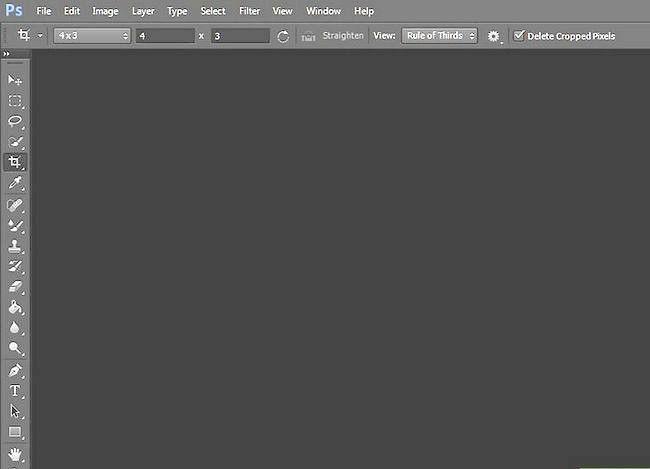 Prent getiteld Skep agtergronde in Adobe Photoshop Stap 5