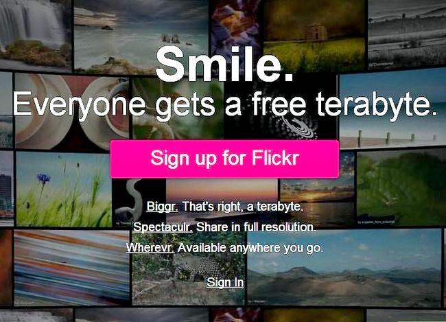 Hoe om `n aanlyn fotoalbum op Flickr te skep