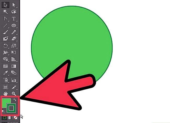 Prent getiteld Skep `n sirkel in Adobe Illustrator Stap 6