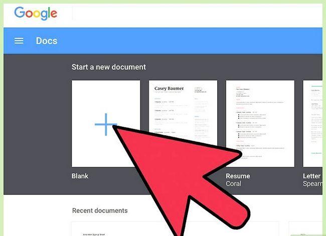 Prent getiteld Skep `n agenda in Google Docs Stap 13