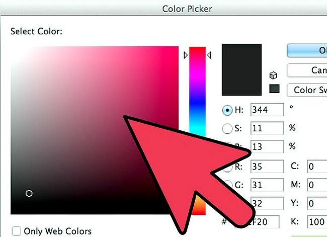 Prent getiteld Skep `n oorsig in Adobe Illustrator Stap 3