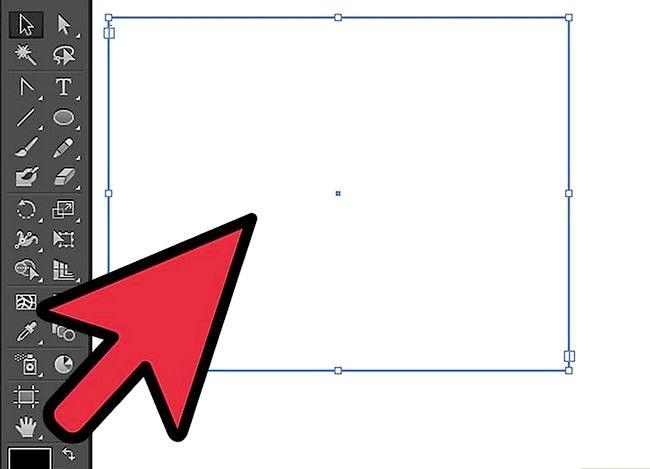 Prent getiteld Skep `n teksboks in Adobe Illustrator Stap 2