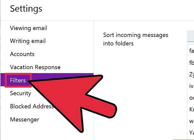 Prent getiteld Skep `n filter in Yahoo! Pos Stap 6