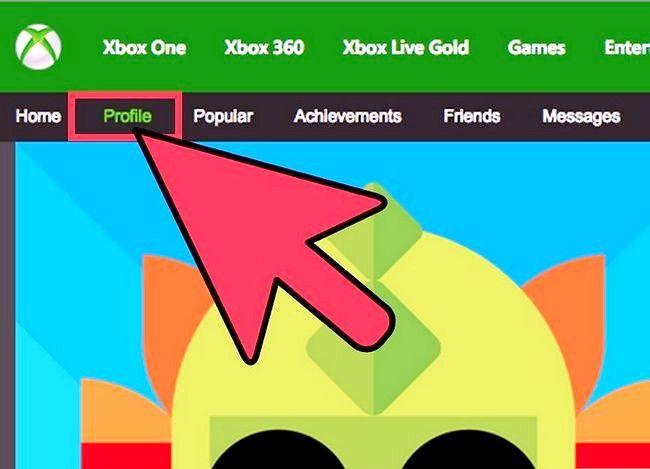 Prent getiteld Skep `n Xbox Live Gamertag Stap 4