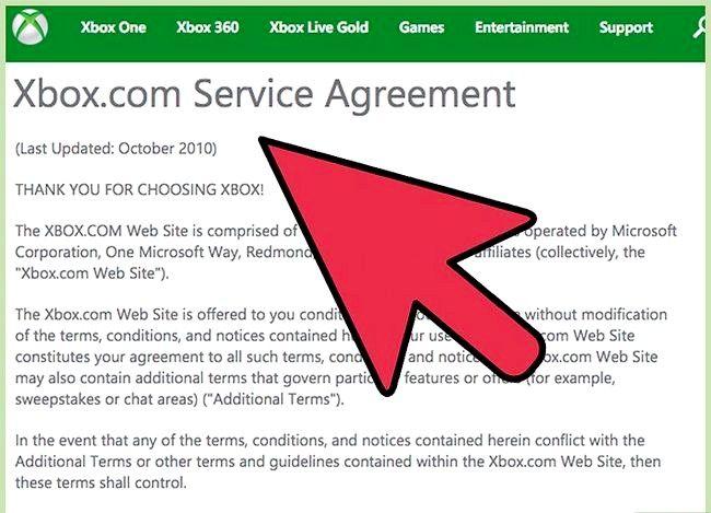 Prent getiteld Skep `n Xbox Live Gamertag Stap 6