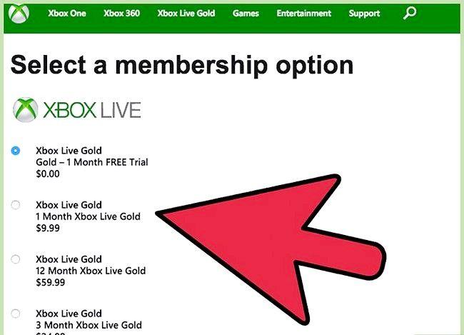 Prent getiteld Skep `n Xbox Live Gamertag Stap 7
